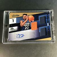 JOSH OKOGIE 2018 PANINI ABSOLUTE TOOLS TRIPLE PATCH AUTO ROOKIE RC /149 T-WOLVES