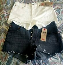 Levi's 501 jeans shorts.contact for size and availability