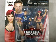 WWE Mattel The Miz and Maryse Battle Packs 51 Basic Figures
