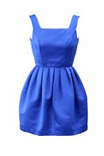 Topshop vestido señora dress verano minivestido vestido de talla 34 (XS) azul