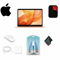 """Apple 13.3"""" MacBook Air Gold 128GB with Retina Display (Late 2018) Package"""