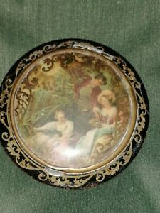 Antique Powder Compact.  French