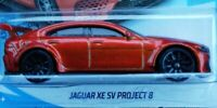 Reade! Hot wheels JAGUAR XE SV PROJECT 8 New without package