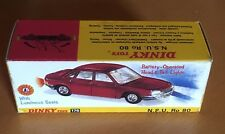 Dinky 176 N.S.U. RO80 Outer Empty Repro Box Only