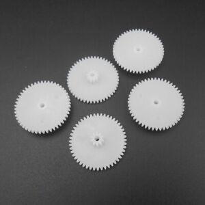 0.5 Modulus 0.5M Double Gear Reduction Bilayer Gear 48T 10T Hole 2.05mm 48 Teeth