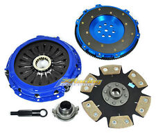 FX STAGE 4 CLUTCH KIT+FORGED RACE ALUMINUM FLYWHEEL LANCER EVO EVOLUTION 7 8 9