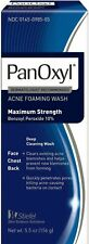 PanOxyl Acne Foaming wash Maximum strength 5.5 oz exp 6/2021
