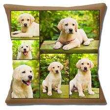 Dorado Labrador Amarillo Cachorro Funda de cojín 40.6x40.6cm 40cm Lindo