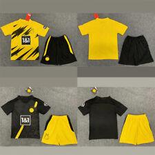 2020/21 Borussia Dortmund football kit  Home & Away children adult Suit