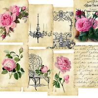 Card topper Victorian Garden, Card Making, Tags, Paper Craft, Journal, Scrapbook