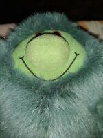 BBC MUZZY GREEN MONSTER PLUSH SOFT TOY BBC LANGUAGE COURSE FRIEND 12""