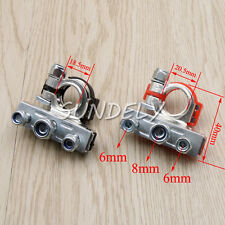 Car Boat Battery Terminal Clamps Quick Release Lift Off Positive & Negative