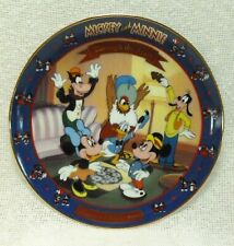 New ListingMickey and Minnie Mickey's Birthday Party Collector Plate Bradford Exchange