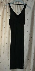 Miss Sixty ~ Ladies Black Sleeveless / Strappy Dress ~ Size L