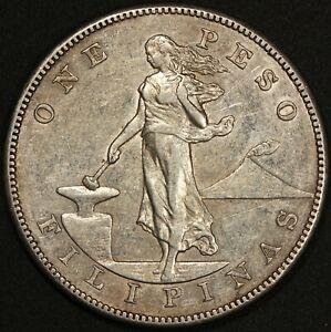 1903-S U.S. Philippines One Peso Silver Coin - KM# 168