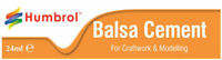 Balsa Cement Modelling Glue 24ml Tube AE0603