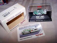 Herpa HO 1/87 Zakspeed Mercedes Benz 190 E  Motor Sport Race Car