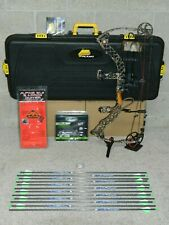 """Loaded LEFT Hand Mathews Z7 Bow Package- 28"""" Draw Length- 60 to 70 Pounds"""