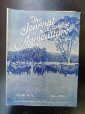 OLD SOUTH AUSTRALIAN AGRICULTURE FARMING JOURNAL MARCH 1953