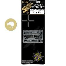 HGW 1/32 #132151 Photoetch interior for AEG G.IV for Wingnut Wings