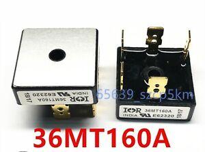 2pcs 36 AMP Three Phase 5-PIN Bridge Rectifier 36A 1600V 36MT160A