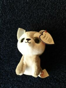 McDonalds Happy Meal 2017  Ty Beanie Boos  TIMBER Husky With TAG