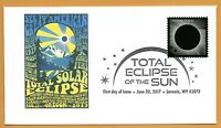 Groovy Oregon. 2017 Great American Eclipse.  Total Solar Eclipse of the Sun. FDC