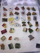 lot environ 250 pins collection vintage publicité  french antique