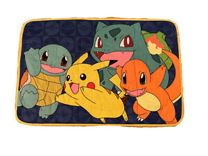Pokemon bathroom floor mat Pikachu plush rug 28 inch