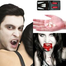 Fancy Dress Vampire Teeth Halloween Denture Fangs Bites Costume Props Scary