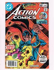 Action Comics #530 (1982) Brainiac App.Aquaman & Atom Back-Up Story