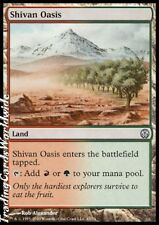 4x Shivan Oasis // Presque comme neuf // DD: Phyrexia vs. The Coalition // Engl. // Magic