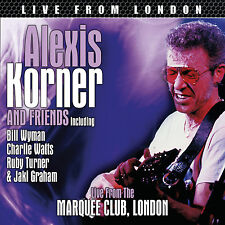 ALEXIS KORNER, CHARLIE WATTS, BILL WYMAN Sealed UNRELEASED LIVE CONCERT CD