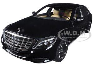 MERCEDES MAYBACH S CLASS S600 BLACK 1/18 MODEL CAR BY AUTOART 76293