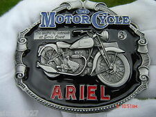Ariel motorcycle belt buckle.square four red hunter