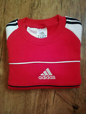 Adidas Boys Red Sweatshirt Sweater Pullover Sweater Sport New
