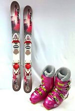 GIRLS SKI PACKAGE, Head Mojo Spawn III 87cm, ROXY Bindings, and Roxy boots