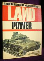 BOOK  MILITARY ARMY WAR LAND POWER 350 PAGES FULLY ILLUSTRATED