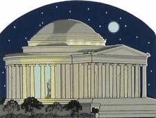 Cat's Meow Village Jefferson Memorial Washington Dc Night Scene #3984 Ship Disc