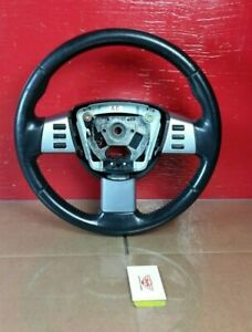 2003-2007 Nissan Murano Steering Wheel Black Leather OEM