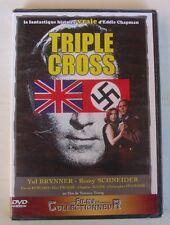 DVD TRIPLE CROSS - Yul BRYNNER / Romy SCHNEIDER / Trevor HOWARD - NEUF
