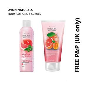 AVON NATURALS Body Lotions & Scrubs LAST FEW DISCONTINUED Multibuys **FREE P&P**