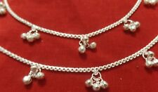 Anklet Pakistan Chain Ankle Bracelet Bells Bare Foot India sari Jewelry Payal