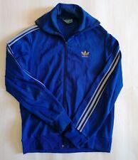 Adidas Felpa Tuta Jacket Vintage Anni 80 Taglia S/M Rara da collezione Francia