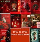 Sears Wishbook Christmas Catalogs on Disc (1960-1969)
