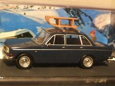 1:43 Scale VOLVO 144  French diorama Blue route series by Altaya