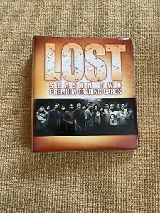 Collectible LOST Season 2 Two Premium Trading Cards Binder Inkworks 2006