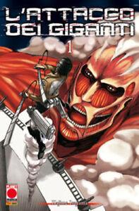 Planet Manga - L'Attacco dei Giganti 1 - Ristampa - Nuovo !!!