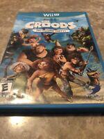 The Croods: Prehistoric Party Wii U (Nintendo Wii U, 2013) - No Manual