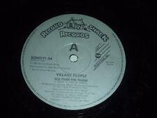 "VILLAGE PEOPLE - Sex Over The Phone - 1985 UK 2-track 12"" Vinyl Single"